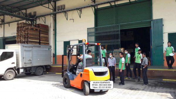 Forklift Diesel Toyota 2.5 Ton