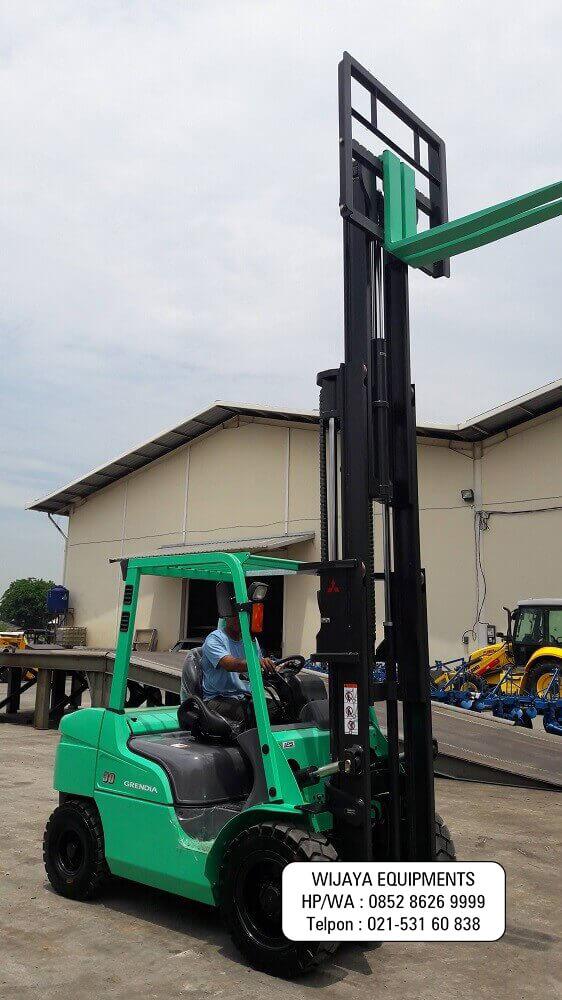 Forklift Mitsubishi 3 Ton Harga Murah 2020