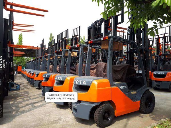 Forklift Toyota 2.5 Ton