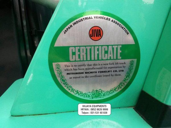 JIVA Certificate