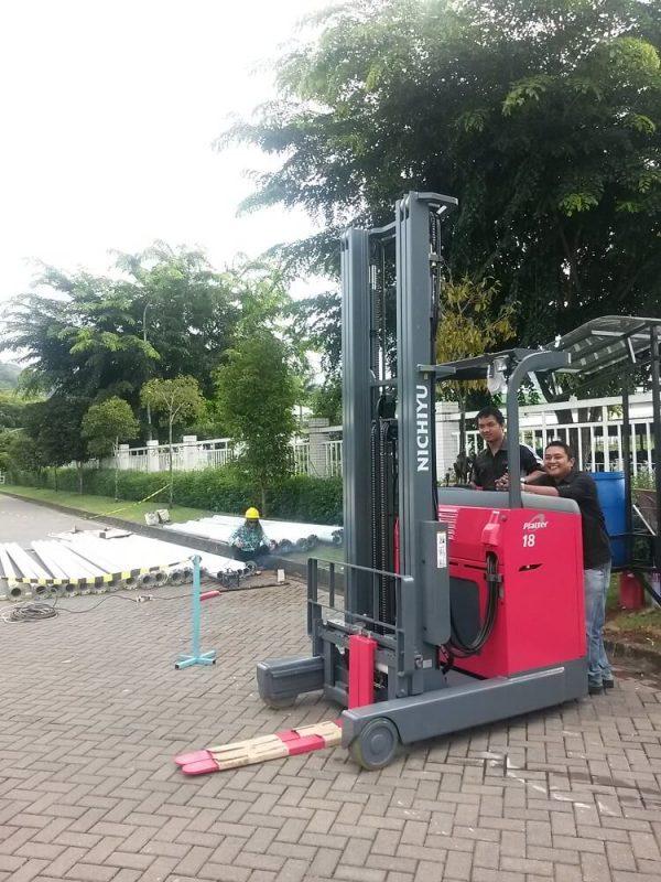 Jual Reach Truck Nichiyu 1.8 Ton Harga Murah