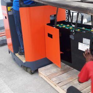 Aki Forklift Hitachi Harga Murah