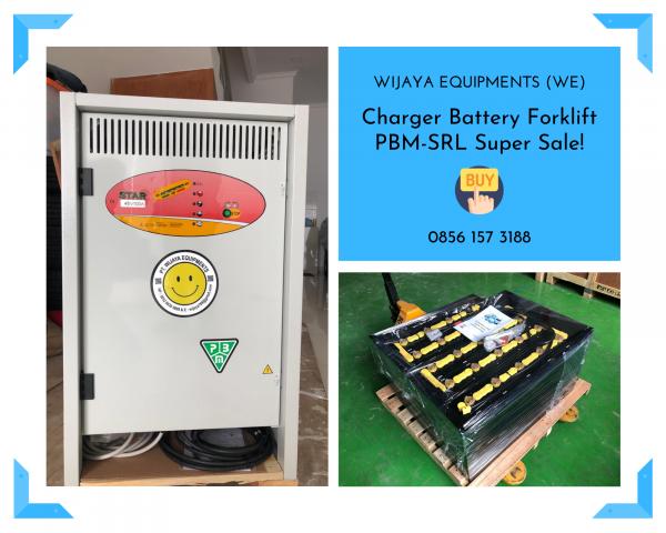 Charger PBM-SRL untuk baterai forklift