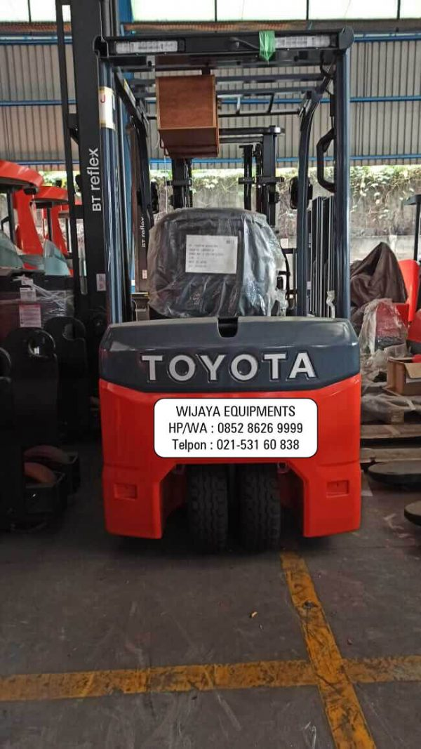 Forklift Elektrik Bekas