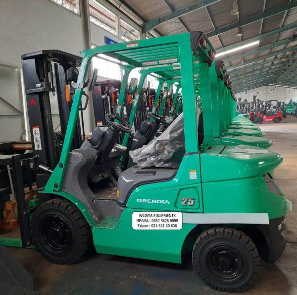 Forklift Mitsubishi Bekas 2.5 Ton