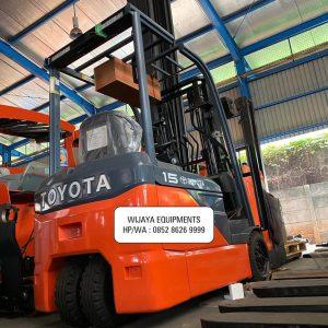 Forklift Toyota Electric Bekas