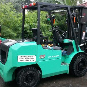 Forklift Mitsubishi Bekas 3 Ton