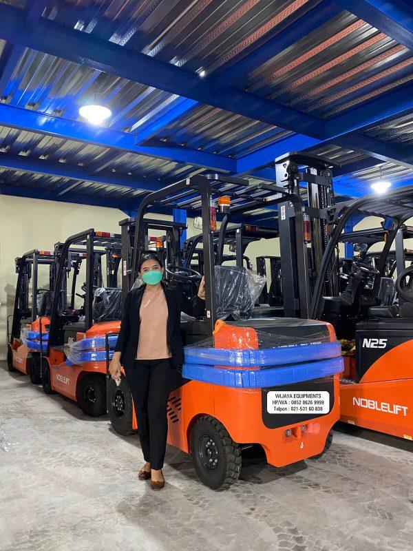 Forklift Elektrik Noblelift